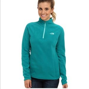 The North Face Teal Fleece Pullover | Small
